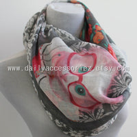 Lady Cat Scarf - Bean Concept - Etsy