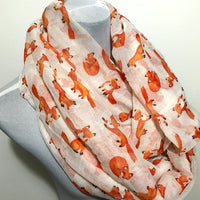 Little Fox Infinity Scarf - Bean Concept - Etsy