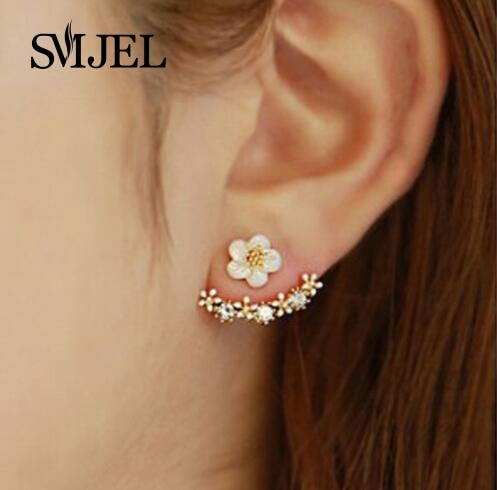 Cherry Blossoms Flower Stud Earrings - Bean Concept - Etsy