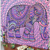Indian Elephant Tapestry - Bean Concept - Etsy