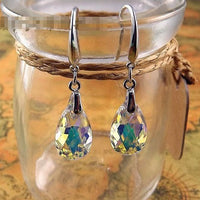 Blue Wedding Earrings - Bean Concept - Etsy