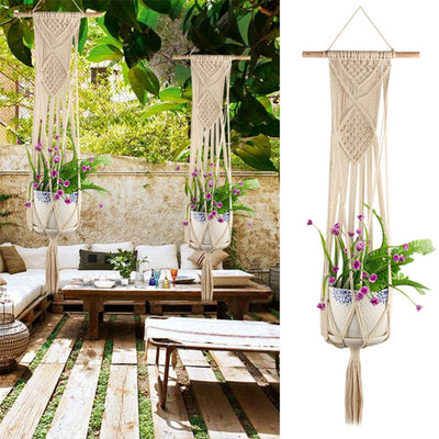 Knotted Plant Pot Hanger