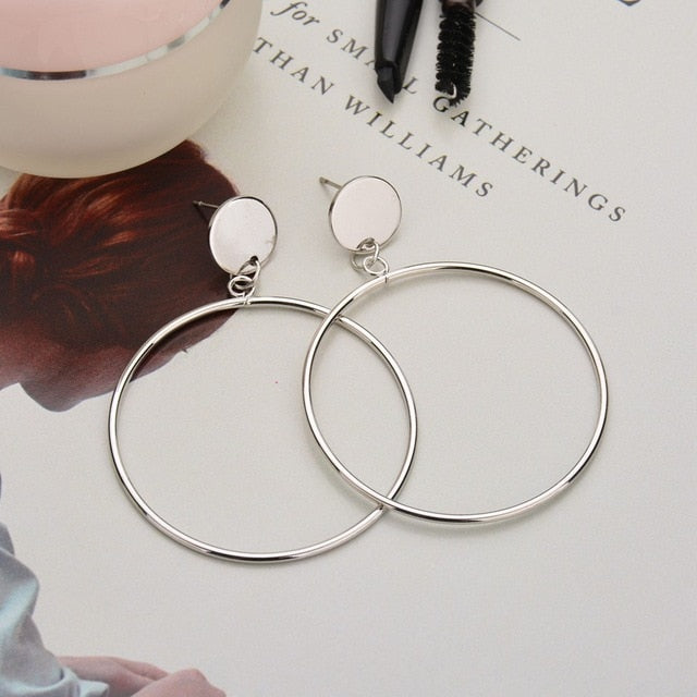 Circle Earrings - Bean Concept - Etsy