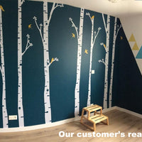 Huge Birch Tree Birds Wall Decals - Bean Concept - Etsy