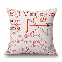 Science Chemistry Pillow Covers - Bean Concept - Etsy