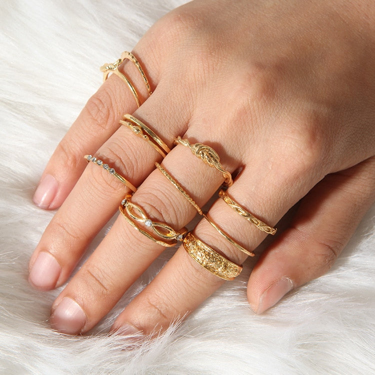 Boho Knuckle Rings - Bean Concept - Etsy