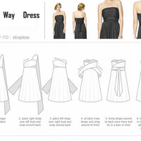 Convertible Bridesmaid Dress - Bean Concept - Etsy