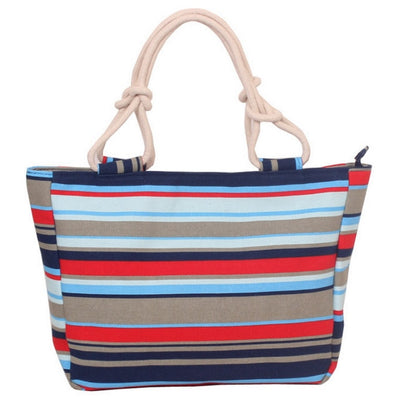 Canvas Beach Tote - Bean Concept - Etsy