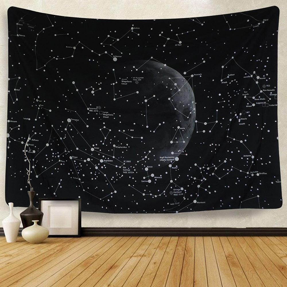 Constellation Galaxy Tapestry - Bean Concept - Etsy