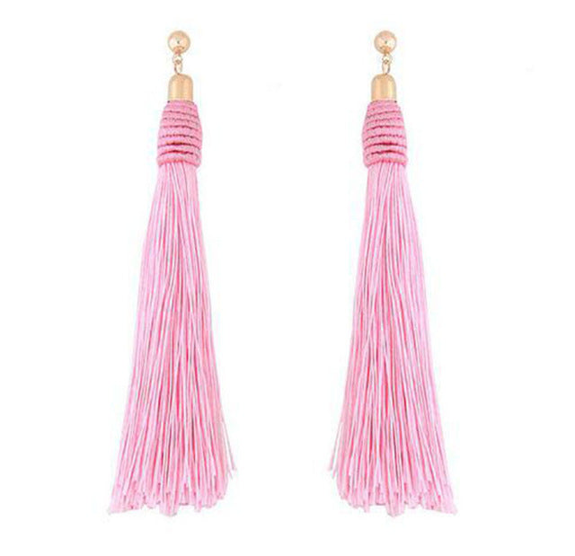 Tassel Earrings - Bean Concept - Etsy