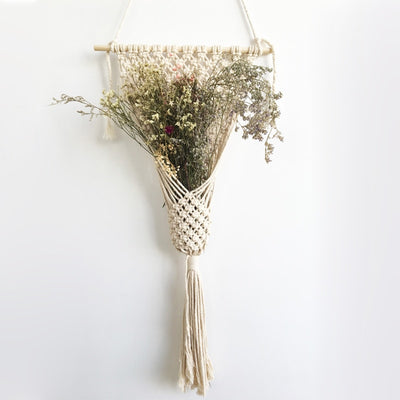 Macrame Wall Hanging for Plant Pot