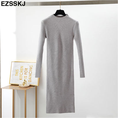 Emma Midi Sweater Dress