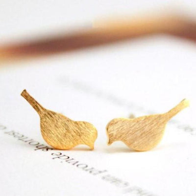 Bird Stud Earrings - Bean Concept - Etsy