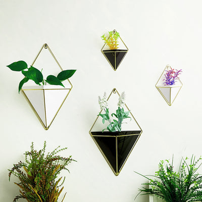Geometric Hanging Flower Plant Pots Holder