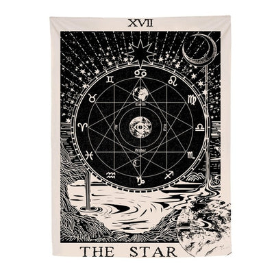 The Star Tapestries Decor - Bean Concept - Etsy