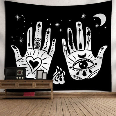 Moon Travel Tapestries Decor
