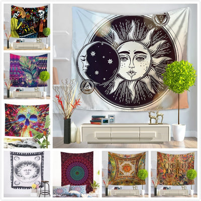 Hippie Exotic Printed Tapestry