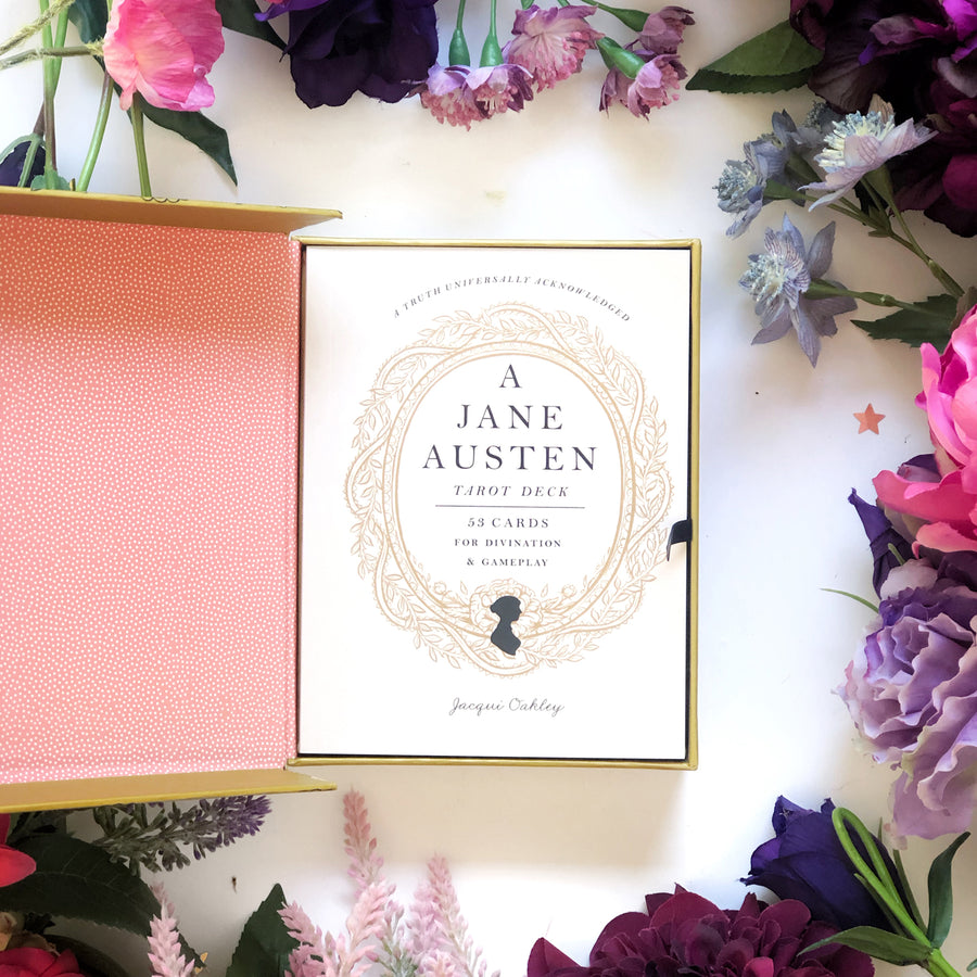 A Jane Austen Tarot Deck - The Quirky Cup Collective