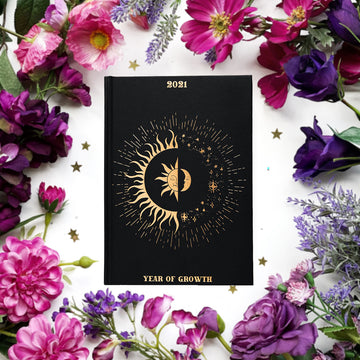 Dreamy Moons Year of Growth 2021 Planner