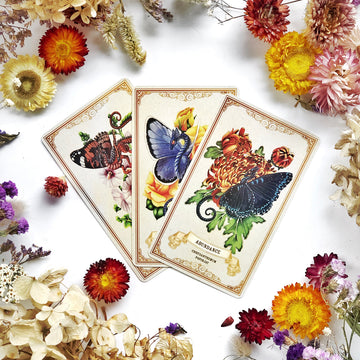 Enchanted Blossoms Empowerment Oracle - The Quirky Cup Collective