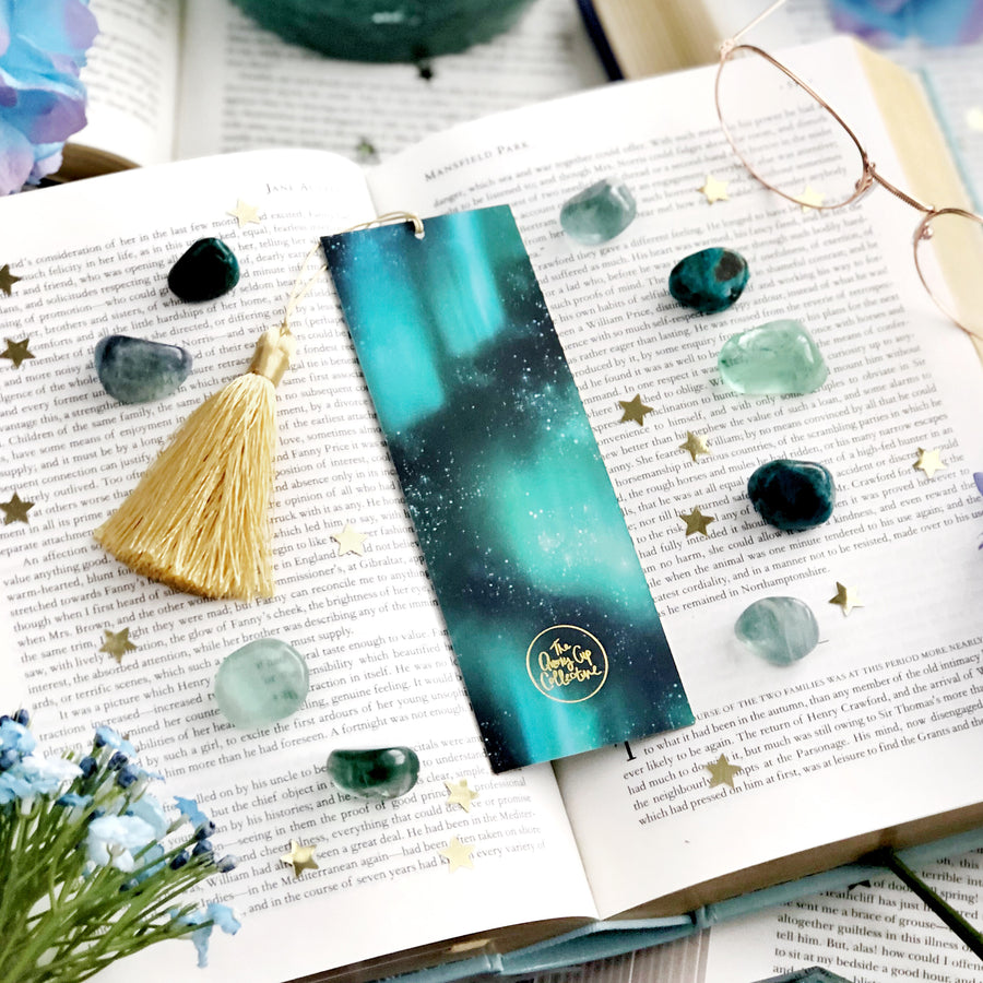 Luna Moth Bookmark - The Quirky Cup Collective