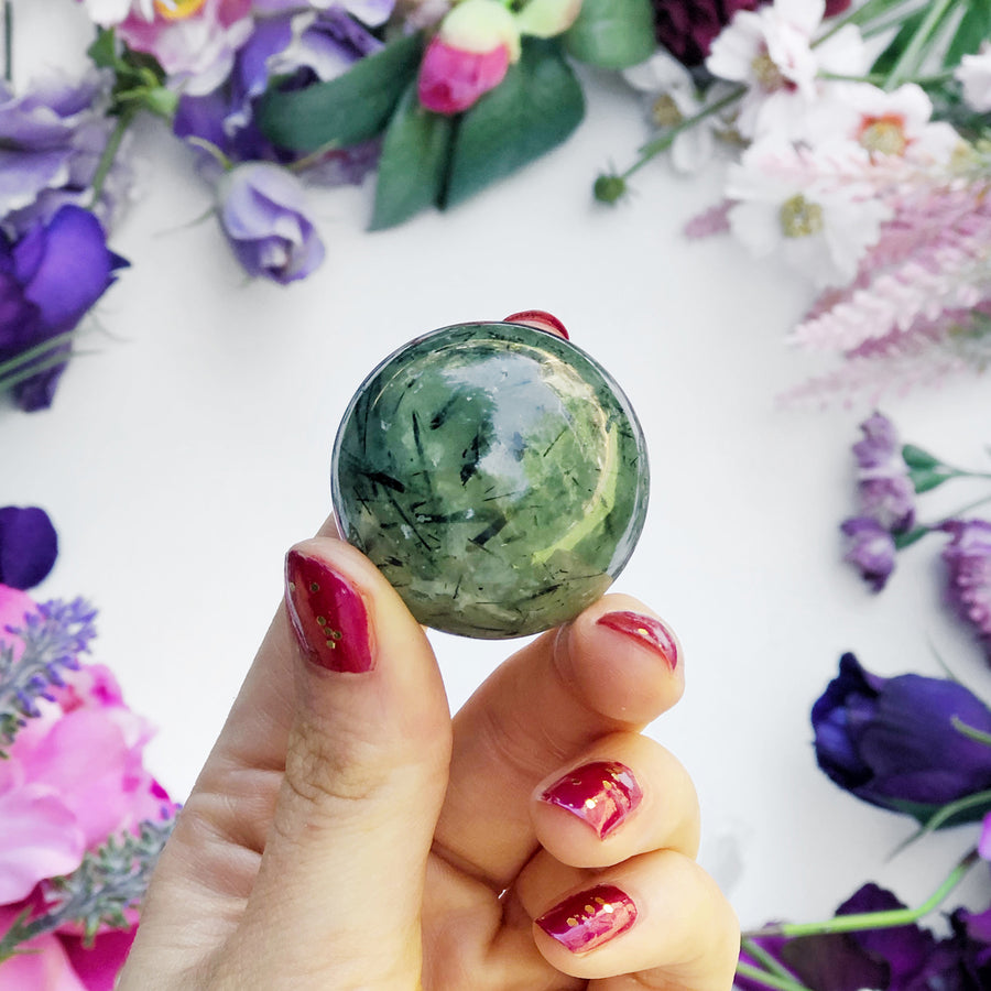Prehnite Sphere - The Quirky Cup Collective