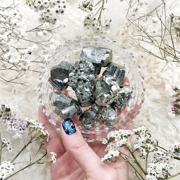 Pyrite Rough Stones - The Quirky Cup Collective