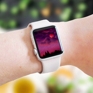 Spooky Season Apple Watch Digital Wallpaper - The Quirky Cup Collective