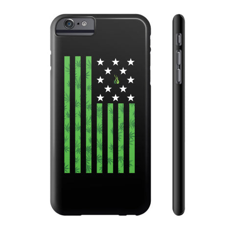 Cannabis Flag Phone Case  Kushvana