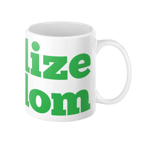 Legalize Freedom Cannabis Coffee Mug by Kushvana