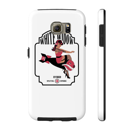 White Widow Signature Series Phone Case  Kushvana