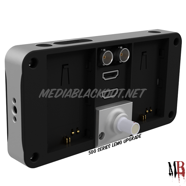 Media Blackout Adds Lemo Power Connector to SmallHD 500/700 Monitors