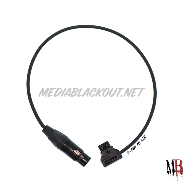 4-pin XLR Power Cable