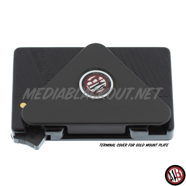 Terminal Cover for Gold Mount Plate