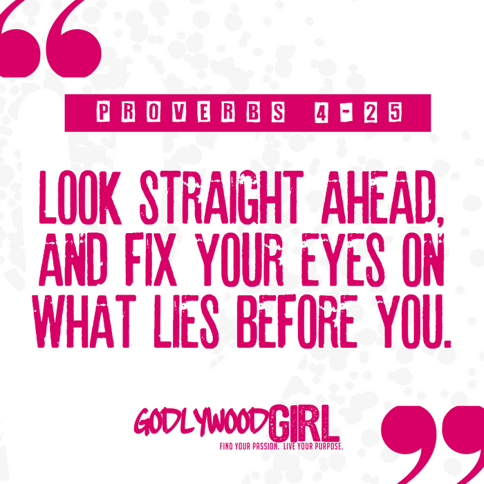 Daily Devotional For Women – Look Straight Ahead