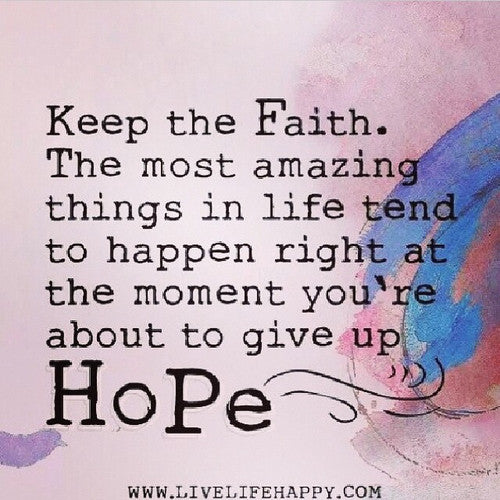 Today's Daily Devotional for Women - Keep Hope Alive