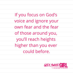 Today's Daily Devotional For Women – Be strong and courageous.