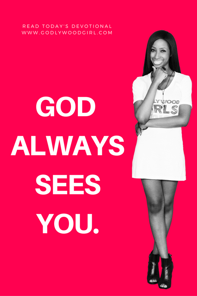 Today's Daily Devotional For Women - God Always Sees You