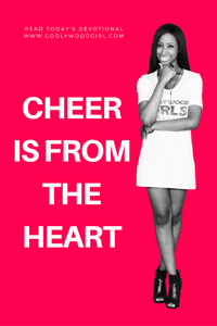 Today's Daily Devotional for Women - Cheer Is From The Heart