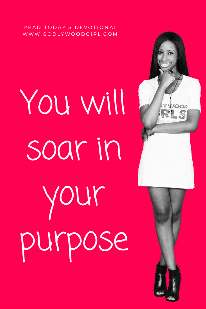 Today's Daily Devotional For Women - You will SOAR in your purpose