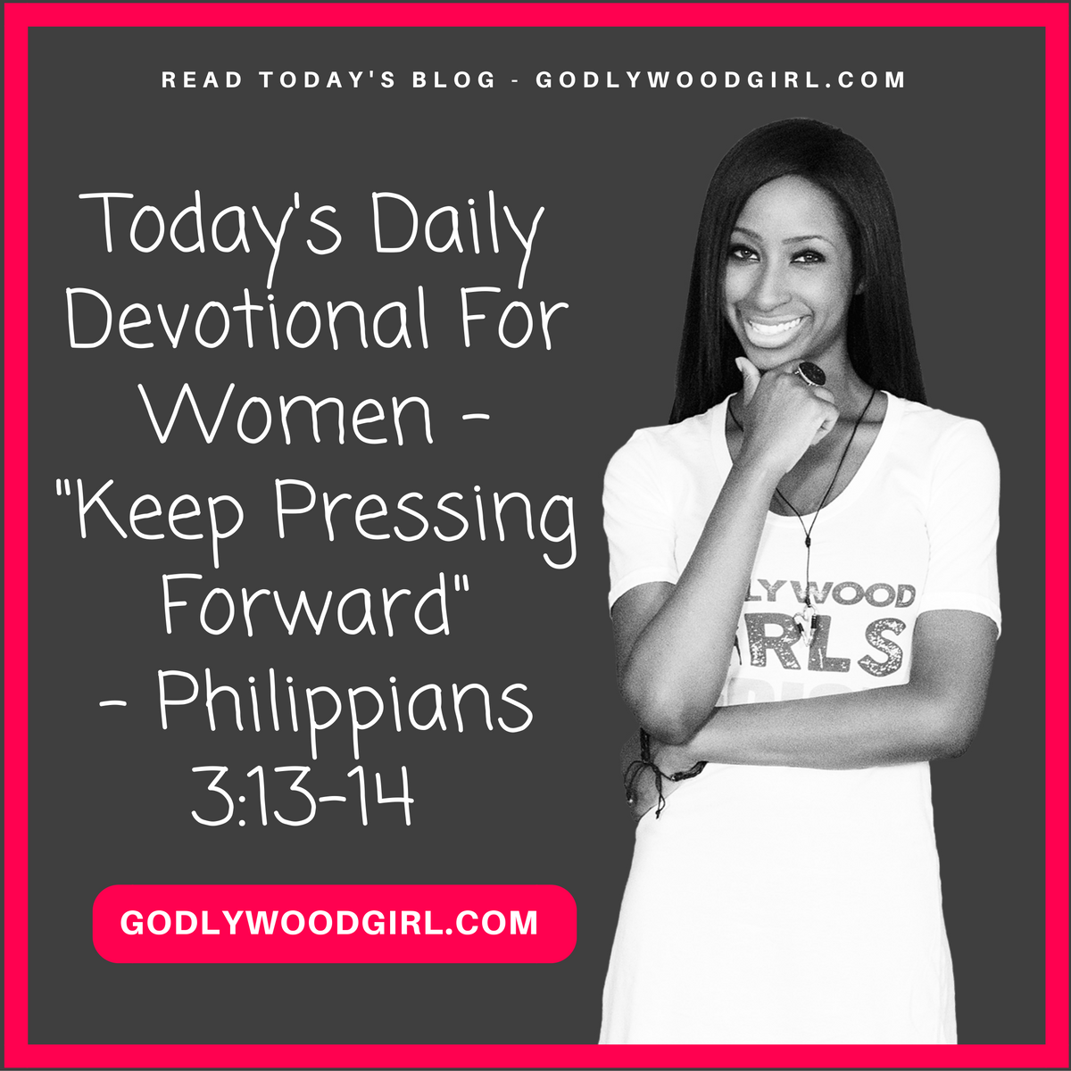 Today's Daily Devotional For Women - Keep Pressing Forward