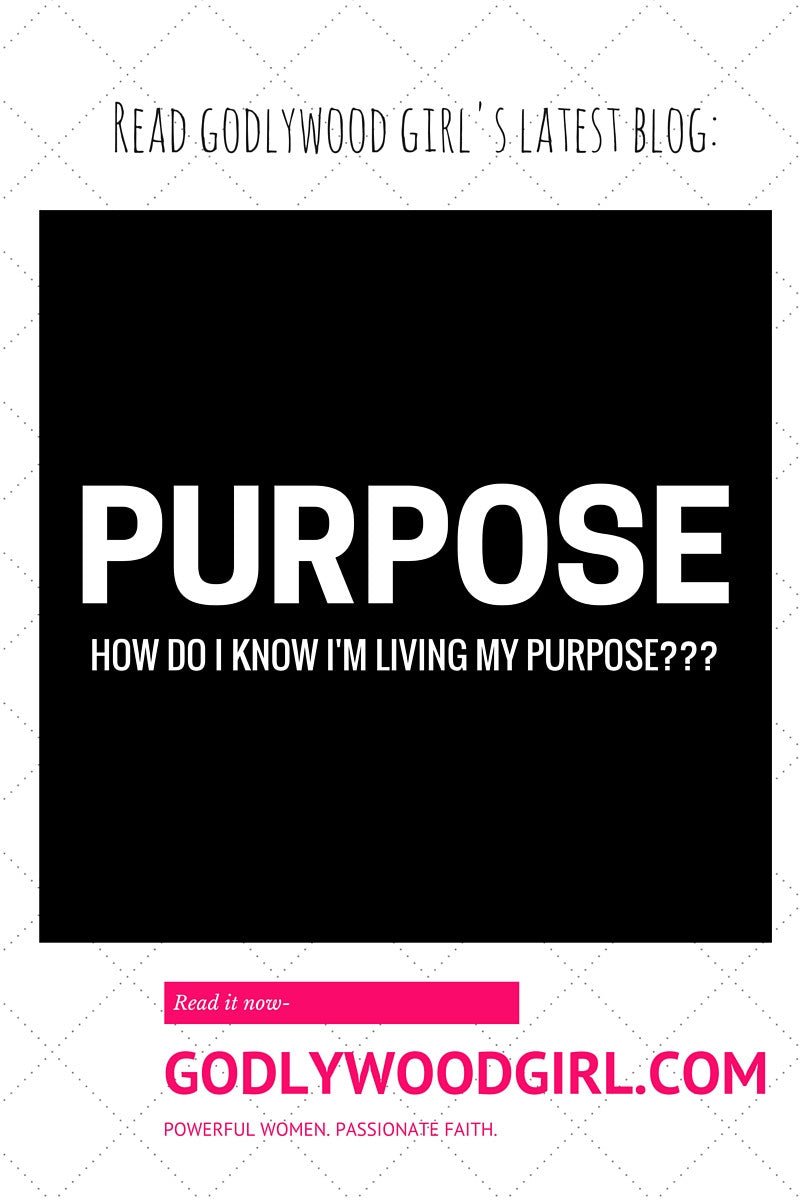 How do I know I'm living my purpose?