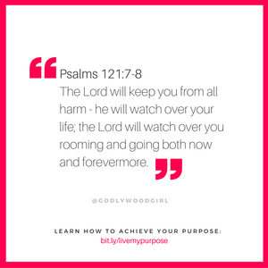 Today's Daily Devotional for Women - The Lord watches over you