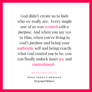 Today's Daily Devotional for Women - 3 Ways to Know if You're Living God's Purpose