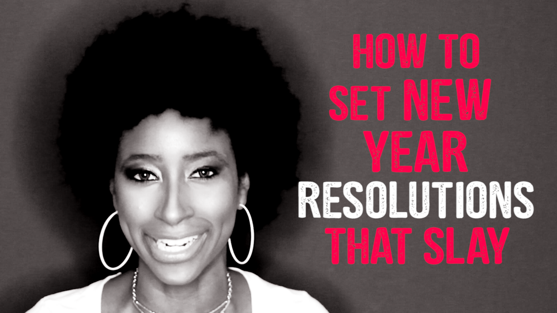 How To Set New Year's Resolutions That Slay So You Step Into Your God-Given Purpose