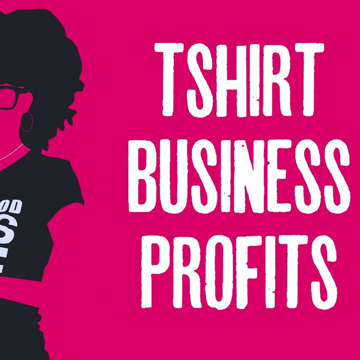 TSHIRT BUSINESS PROFIT | How To Make A PROFIT In A TShirt Business Online (Christian Entrepreneur)