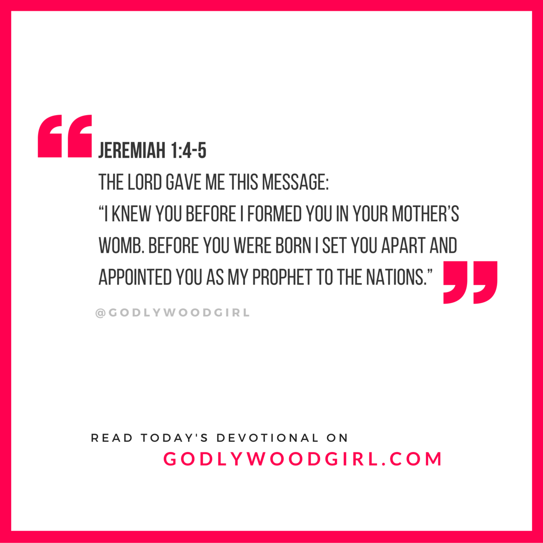 Today's Daily Devotional for Women - You are appointed