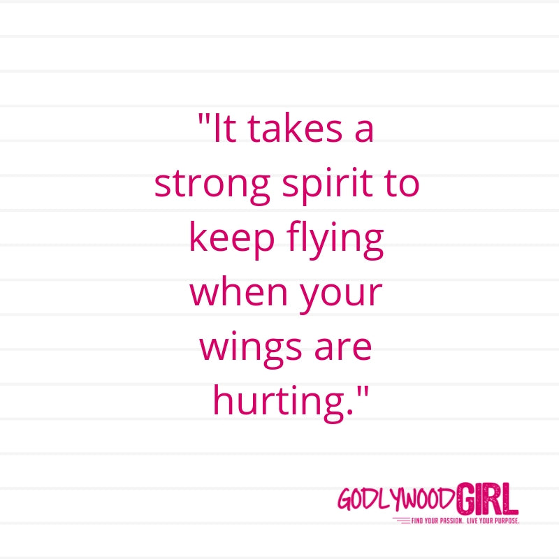 Today's Daily Devotional For Women – You will SOAR in your purpose.