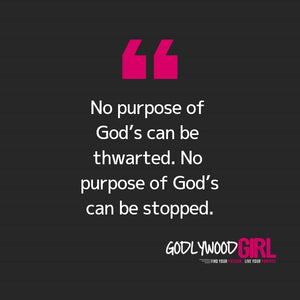 Today's Daily Devotional For Women – Your Purpose is CERTAIN.