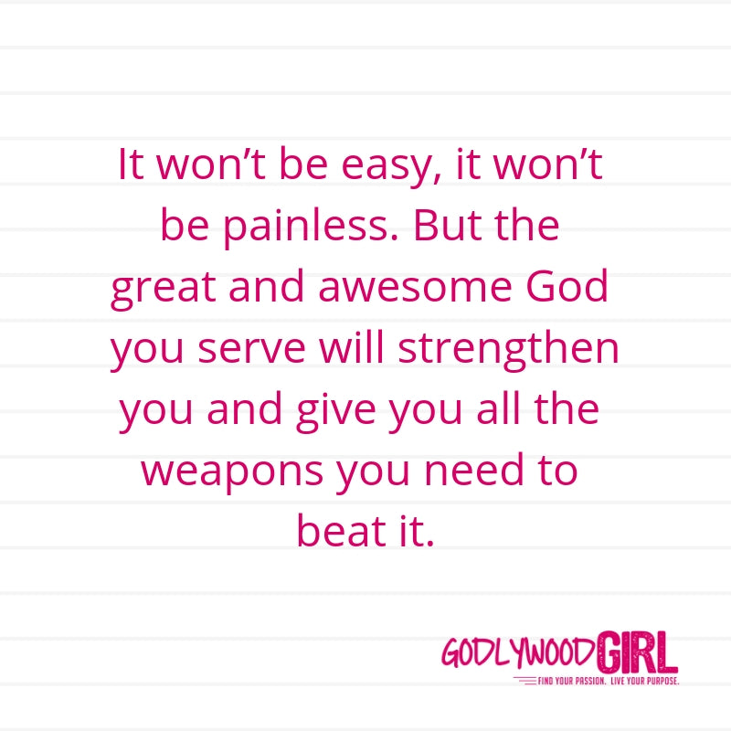 Today's Daily Devotional For Women – You're created to fight for what's yours.